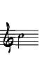 G-klav 2-strukna C